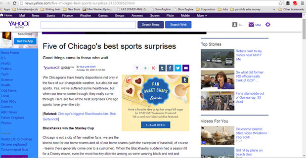 Five of Chicagos best sports surprises